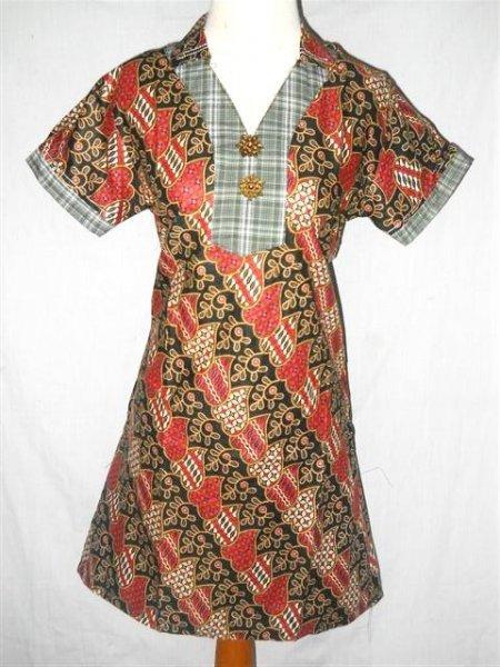 Mode Baju Batik Sackdress Gr 37 A Toko Baju Pakaian